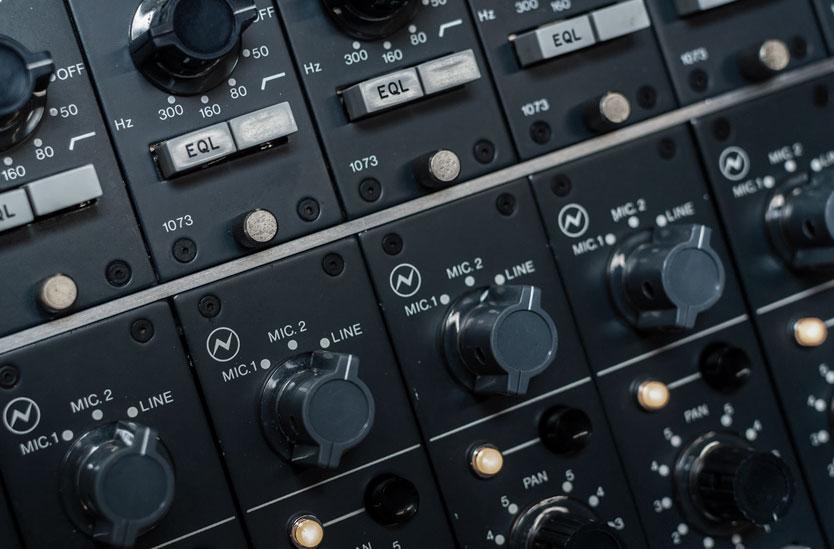Neve recording console